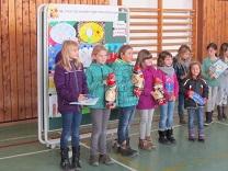 Auf dem Bild die Gewinner von links nach rechts: Franziska Häußler, Klara Fill, Julia Stenger, xxx, Sophia Wastlhuber, xxx