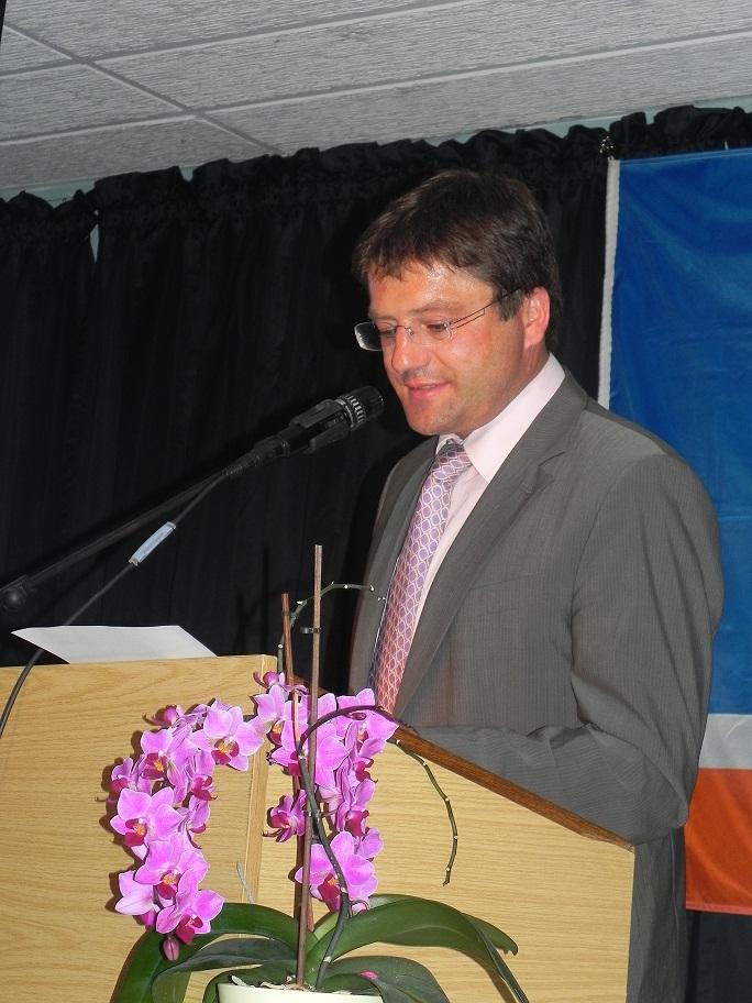 Vorstand Hans Fürstenberger